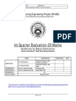 1. b. 1st Quarter Evaluation (Guidelines for Report Submission)