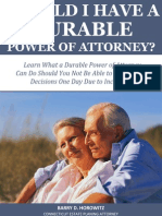 Should I Have a Durable Power of Attorney?
