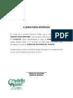 Carta de Trabajo Patricia Vanessa Rojas Martinezcastello Mohac