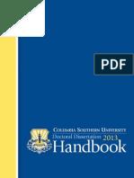 CSU DBA DissertationHandbook