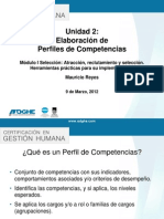 Unidad 2-Perfiles de Competencias