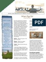 2014 Spring Newsletter for Chaparral Christian Church