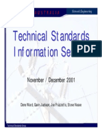 Technical Standards Training Nov01