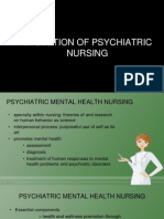 Psych Nursing Evolution
