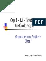 Cap. IA - Gestão de Projetos - Empreendimento v2