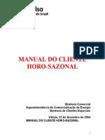 Manual Do Cliente Horo-Sazonal Completo