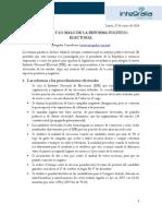 Lo bueno y lo malo de la refoma político-electoral (versión PDF)
