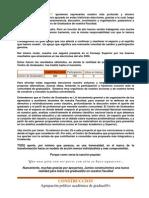 Difusion Resultados Eleccion de Centro 2009