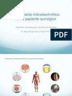 Tratamiento Hidroelectrolitico en el Paciente Quirurgico