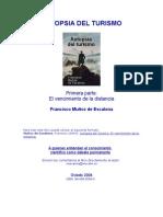 Muñoz de Escalona - Autopsia Del Turismo