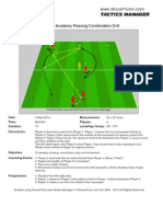 Liverpool Academy Passing Drill