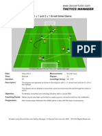 Zonal 1v1 2v2 Small Sided Game