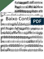 Baixo Contínuo - manual
