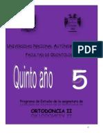 Ortodoncia II 2013