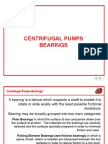 Centrifugal Pumps Bearings - Part 1