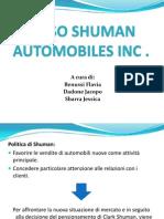 Caso Shuman Automobiles Inc - Soluzione