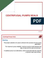 Centrifugal Pumps Seals