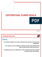 Centrifugal Pumps Seals