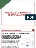 Principle of Centrifugal Pumps