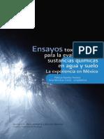 Ensayos toxicologicos para la evaluación de sustancias quimicas en agua y suelo experiencias Mexico