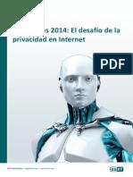 Tendencias 2014 El Desafio de La Privacidad en Internet