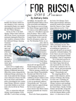 Olympic 2014 Preview