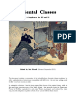 Oriental Classes (Revised)