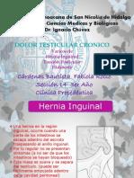 Dolor Testicular Cronico 2