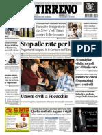 Le pagine del Tirreno di Empoli