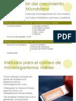 Medicion de Crecimiento Microbiano