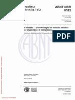 NBR 8522 2008 Concreto — Determinação do módulo estáticode elasticidade à compressão.pdf