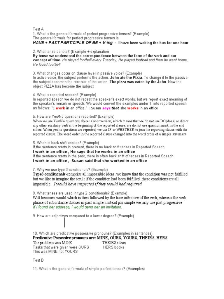 Description II | Grammatical Tense | Perfect (Grammar)