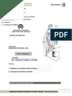 Tarea 1 Derecho Procesal Civil