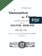 Berlioz-Damnation of Fausto