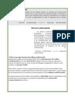 REFLEJO INCONDICIONADO Y CONDICIONADO ASI COMO PAVLOV Y SU EXPERIMENTO.docx