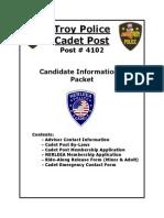 Cadet Informational Packet