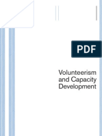 Volunteering and Capacity Development UNV 2002