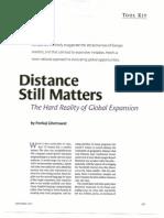 Ghemawat - Distance Still Matters 1