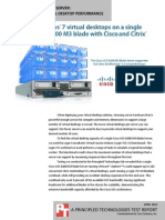 Cisco UCS B200 M3 Blade Server with Citrix