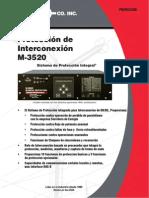 M 3520 SP Spanish
