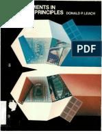 Experiments in Digital Principals 2nd Ed - Final