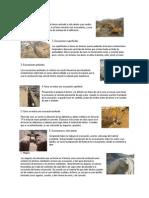 definiciones excavaciones