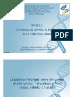 Introducion Ala Fisiologia
