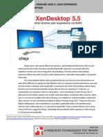Citrix XenDesktop 5.5 vs. VMware View 5