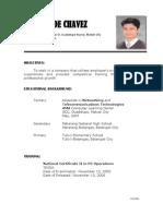 LANZDC Resume