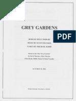 [Musical] Grey Gardens Script