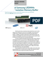 Performance with Samsung LRDIMMs and INPHI's iMB technology