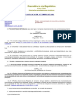 Código de Defesa do Consumidor - Lei nº 8.078