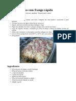 Batata de forno com frango rápida