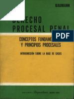 Derecho Procesal Penal - bauman, jürgen -